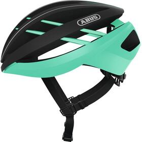 ABUS Aventor Bike Helmet black/turquoise